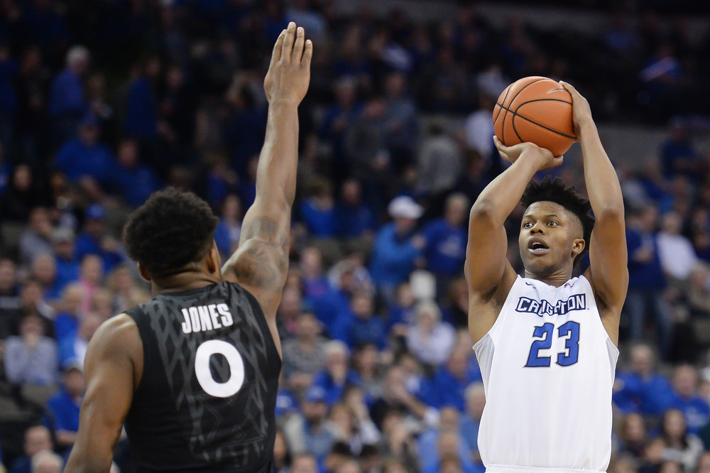 Justin Patton taking jumpers is something the Creighton product hopes to do more of at the NBA level. While he's still gaining consistency, he has massive potential as a stretch-five.