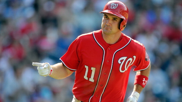 Washington Nationals first baseman, Ryan Zimmerman