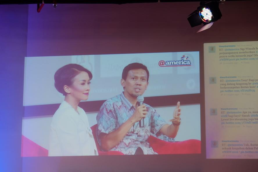 Pak Iing Mursalin, Direktur PKGBM dari MCA-Indonesia. Sumber: Gizi Tinggi Prestasi