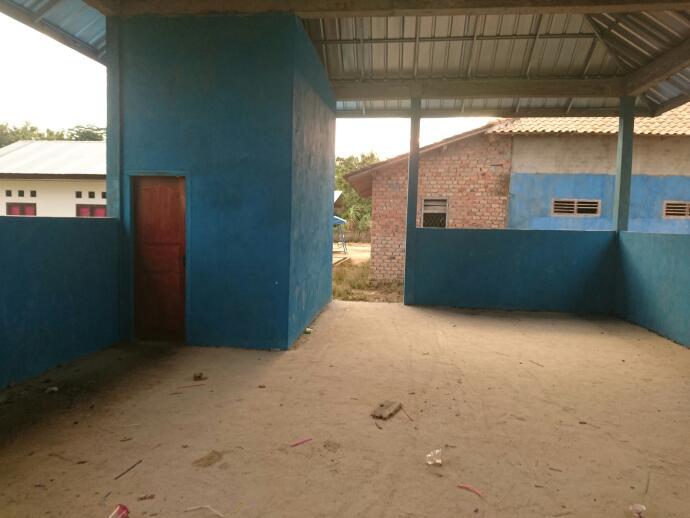 ©IMA/Mentari  Posyandu baru yang dibangun menggunakan dana desa.
