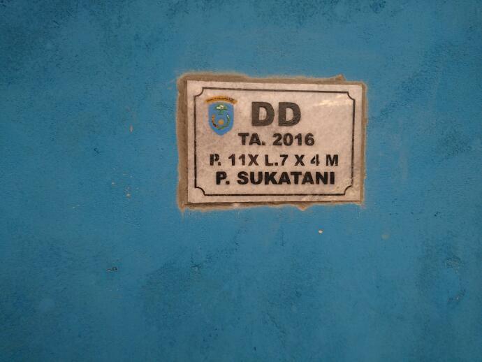 ©IMA/Mentari  Posyandu baru desa Pematang Sukatani seluas 11x7x4 meter persegi