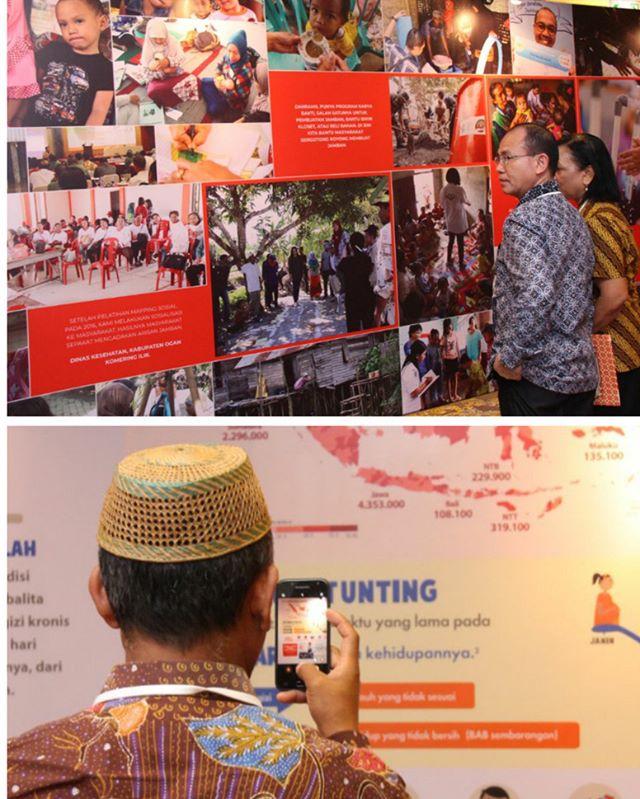 Gizi Tinggi Prestasi Published by Dedeh Kurniasih · 3 mins ·  Peserta Stunting Summit 2018 tengah menikmati foto-foto di wall. #stuntingsummit #cegahstunting #sadarstunting #bundaharuspaham