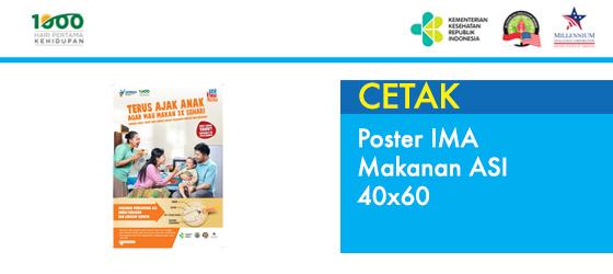Poster IMA Makanan ASI 40x60