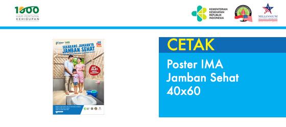 Poster IMA Jamban Sehat 40x60