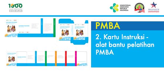 2. Kartu Instruksi - Alat bantu pelatihan PMBA