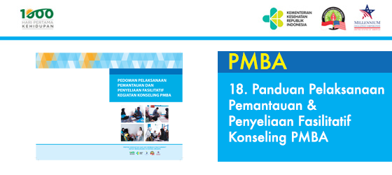 18. Panduan Pelaksanaan Pemantauan & Penyeliaan Fasilitatif Konseling PMBA