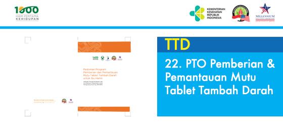 PTO Pemberian & Pemantauan Mutu Tablet Tambah Darah