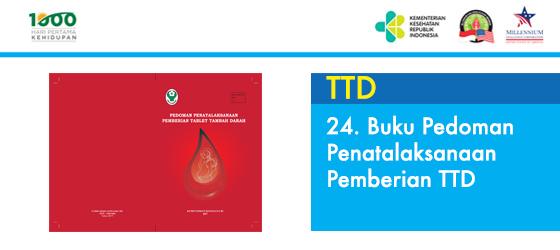 Buku Pedoman Penatalaksanaan Pemberian TTD