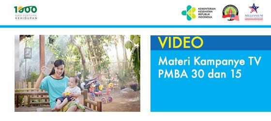 Materi Kampanye TV PMBA 30 detik dan 15 detik