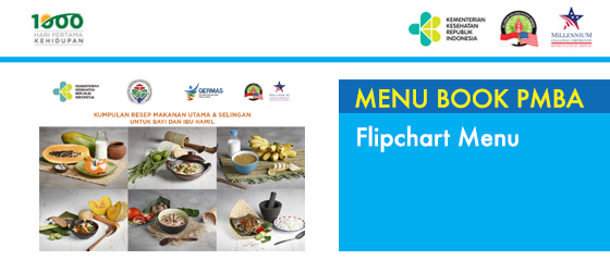 Flipchart menu PMBA