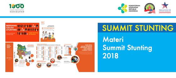 Materi Summit Stunting 2018