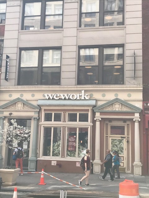 WeWork's Unintentional Comedy — PETITION