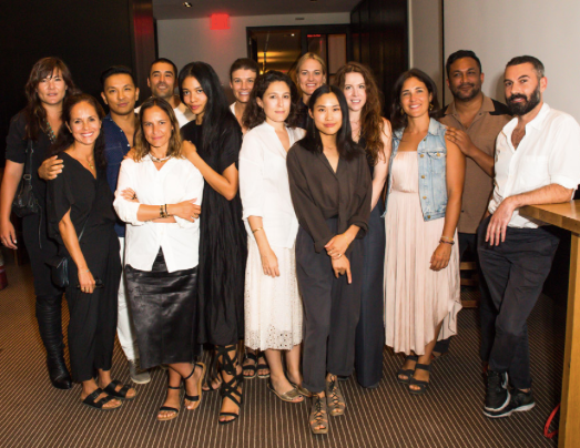 Designers in the CFDA and Lexus Fashion Initiative  Photo courtesy of CFDA
