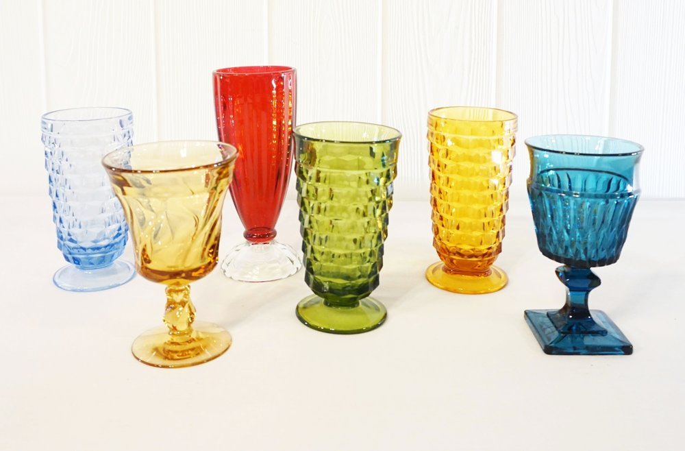Colored Goblets