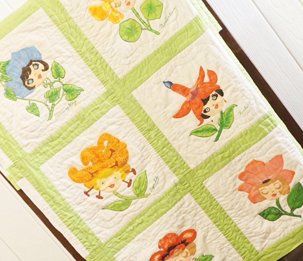 Flower Fairy Quilt