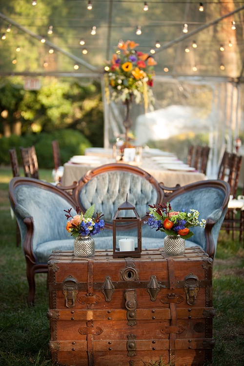 Outdoor lounge inspiration  featured on  Paisley & Jade