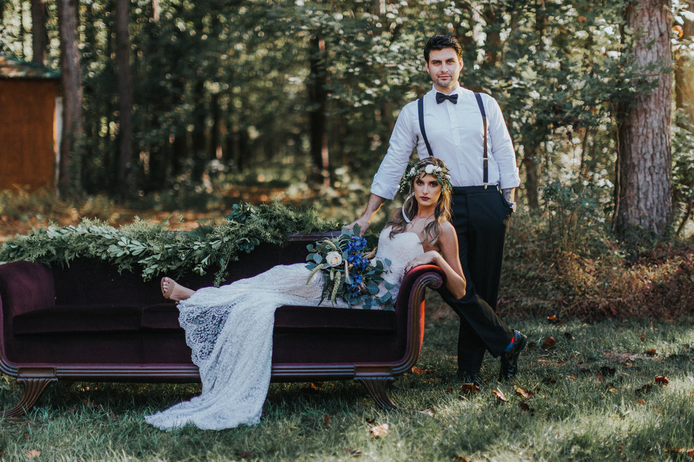 Bohemian Styled Shoot at Hiwassee River Weddings