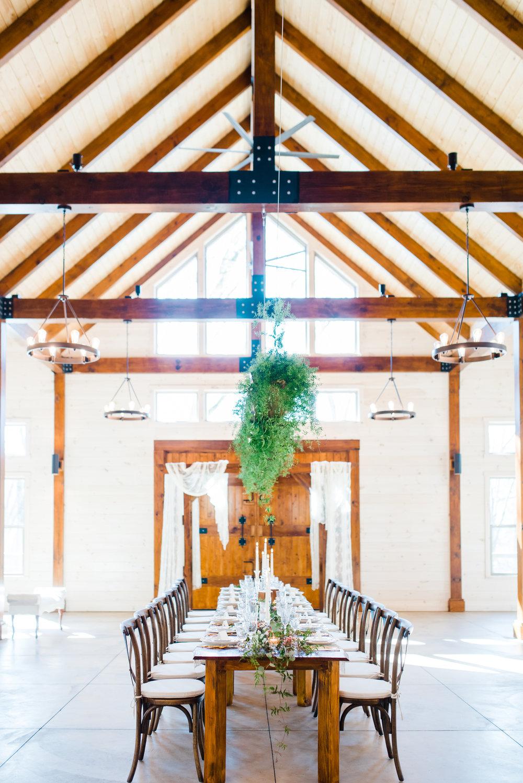 Classic Wedding Decor at Hiwassee River Weddings