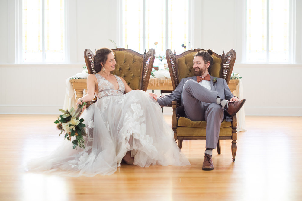 Vintage Chairs in Your Wedding