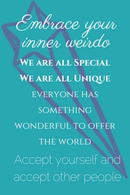 Embrace Your inner Weirdo