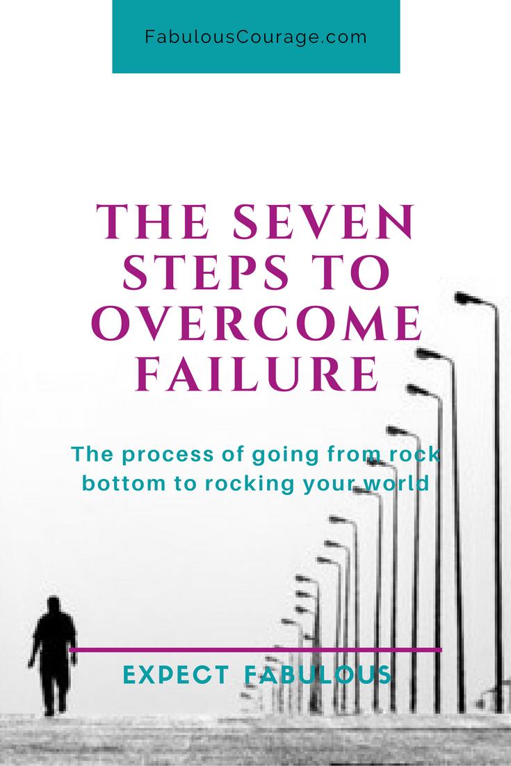 The Seven Steps to Overcome Failure