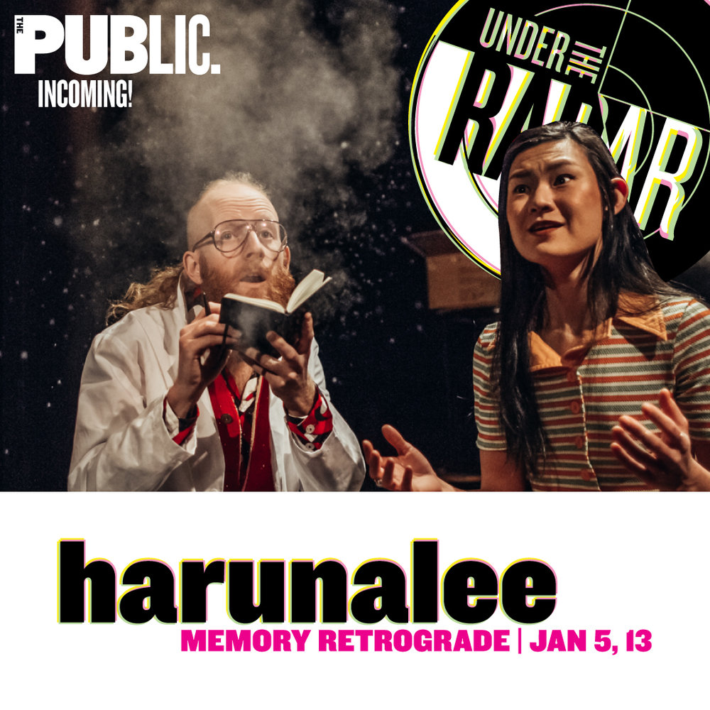 harunalee at UNDER THE RADAR 2018. - Join us for a time-bending adventure that follows a pair of lovers through an epic expanse of generations and landscapes- the Venetian Renaissance, a 1970s doctor's office, and a virtual reality forest in the near future- all through a dioramic triptych negotiating the inextricable relationship of how memory is racialized and gendered over time. We are currently SOLD OUT for our run, but there will also be a waitlist starting 30 min prior to each performance (and we think there's a great chance of getting in!)
