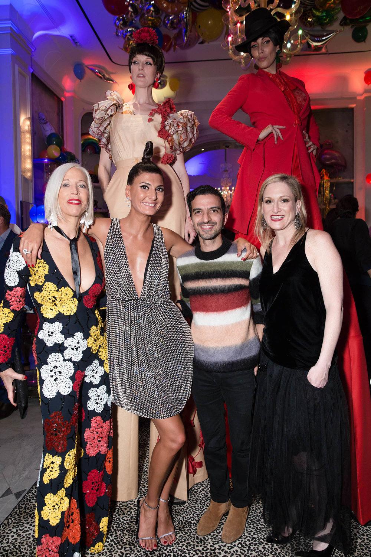 Linda Fargo, Giovanna Engelbert, Imran Amed, & Melissa Lowenkron