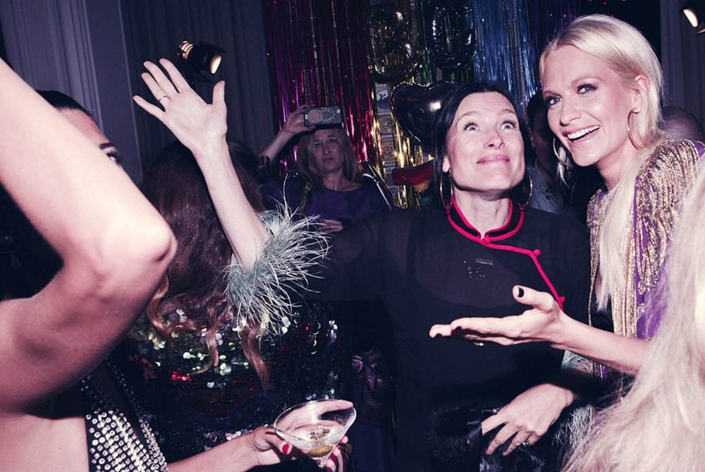 Tabitha Simmons & Poppy Delevingne