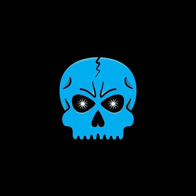 Shh... #indyhall_arts #illustration #skull