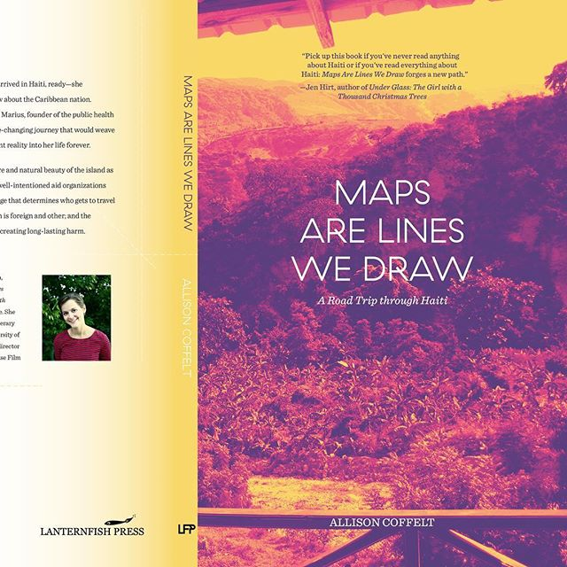 """New book cover for @lfpbooks. Pre order it now. . .. . After a decade of dreaming, Allison Coffelt arrived in Haiti, ready—she thought—""""to learn how much she didn't know"""" about the Caribbean nation. Traveling the highways with Dr. Jean Gardy Marius, founder of the public health organization OSAPO, she embarked on a life-changing journey that would weave Haiti's proud, tumultuous history and present reality into her life forever. . .. . #indyhall_arts #graphicdesign #bookcover"""