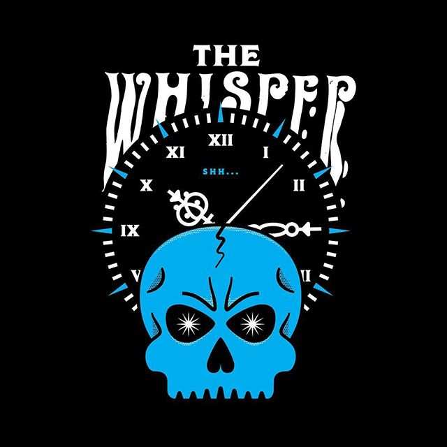 Graphic for the Whisper. Shh... . .. . #indyhall_arts #wrestling #graphictees