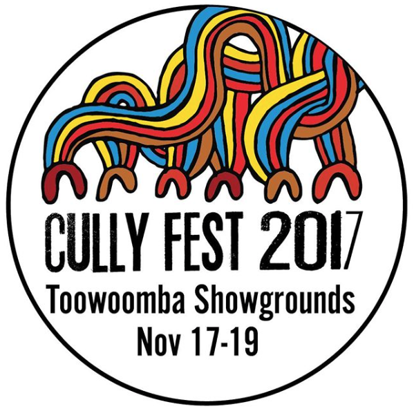 Cully Fest 2017 Music Festival logo design