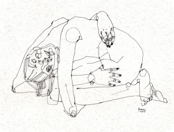 In love with Karolina Koryl's drawings <3 http://korvjl.tumblr.com