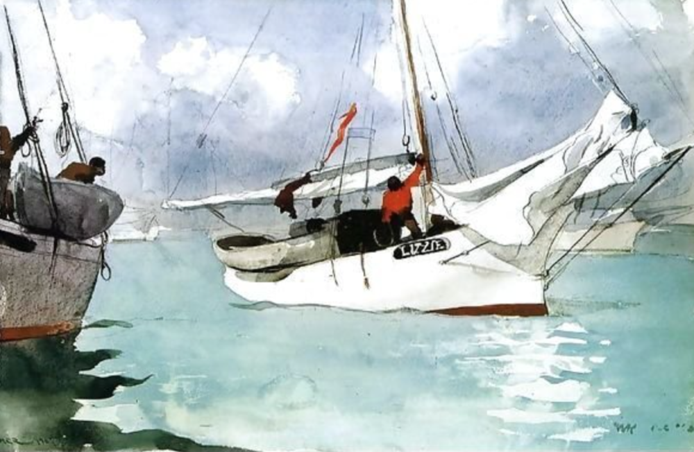 Order a Fishing Boats, Key West by Winslow Homer