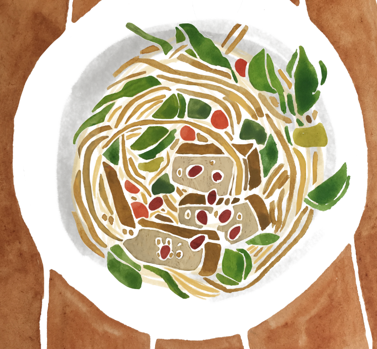 Food illustration, Sarah Campbell Illustration
