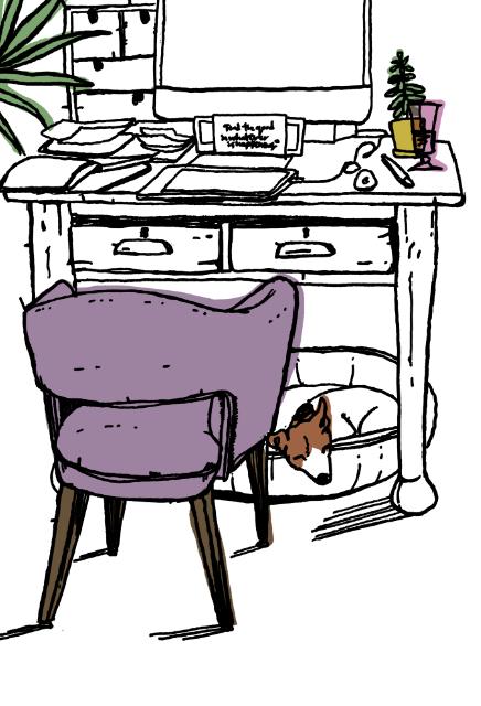 Pen & ink digital illustration, Sarah Campbell Illustration