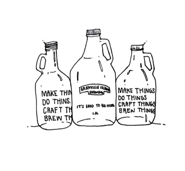 Beer-growler-granville-island-illustration-pen-ink