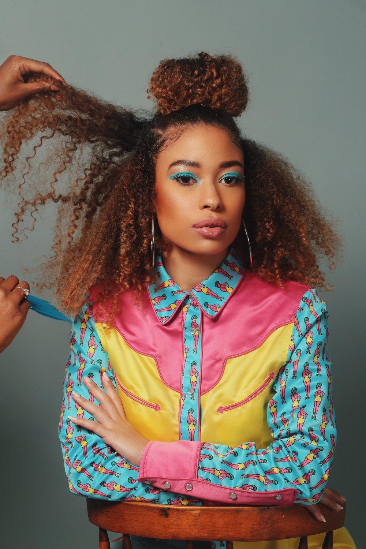 hair & styling by me w/ model @erikacardenas_