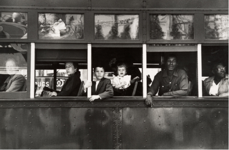 Trolley, New Orleans Robert Frank