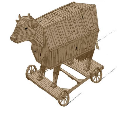 Trojan Cow  (2006) Drew Morrison