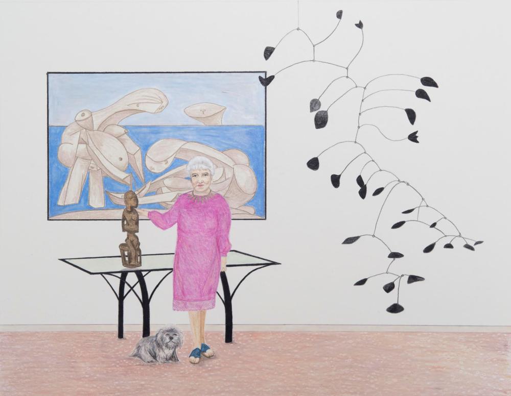 Peggy Guggenheim by Lizzie Dennis