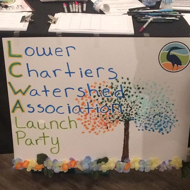 The @lowerchartierswatershed launch party at @abandonedpittsburgh was a real treat! We are excited to see this group's work grow.  #hiphiphooray #getinvolved #watershed #volunteer #artgallery #carnegiepa #alleghenycounty