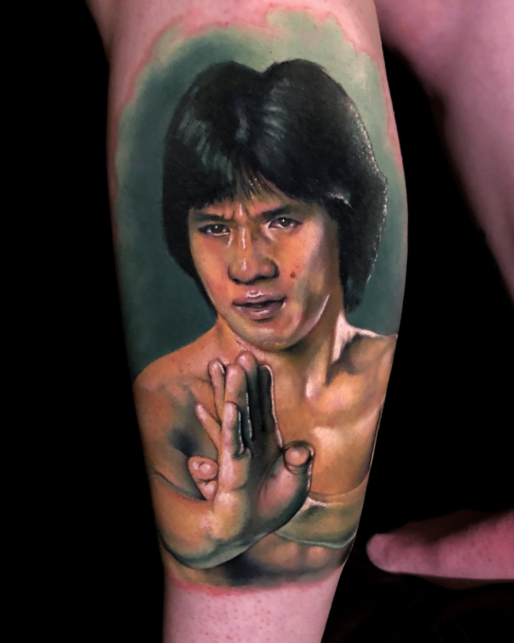 Jackie Chan Liz Cook Tattoo Color Portrait Realism.jpg