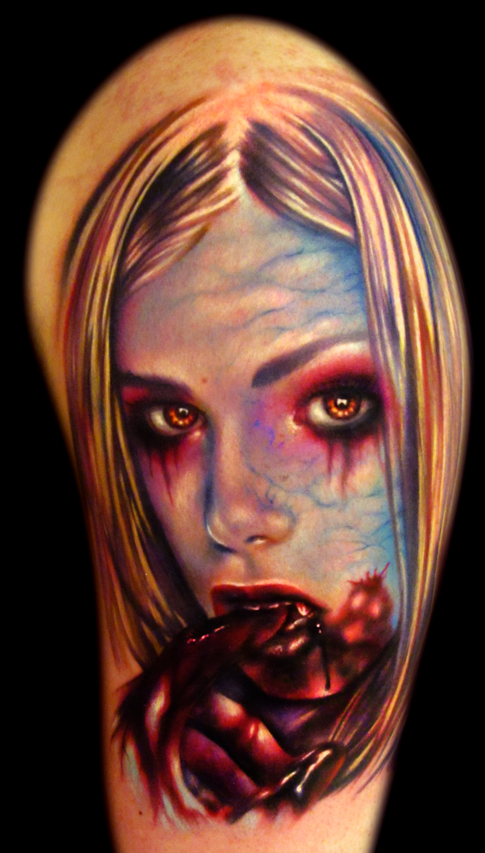 Vampire Sexy Hand Blood Portrait Tattoo 300res.jpg