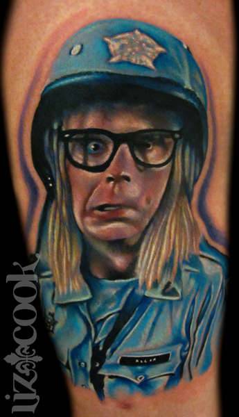 Tattoo-Color-Portrait-Realistic-Celebrity-Garth-Algar-Wayne's-World-2-by-Liz-Cook-Dallas-Texas.jpg