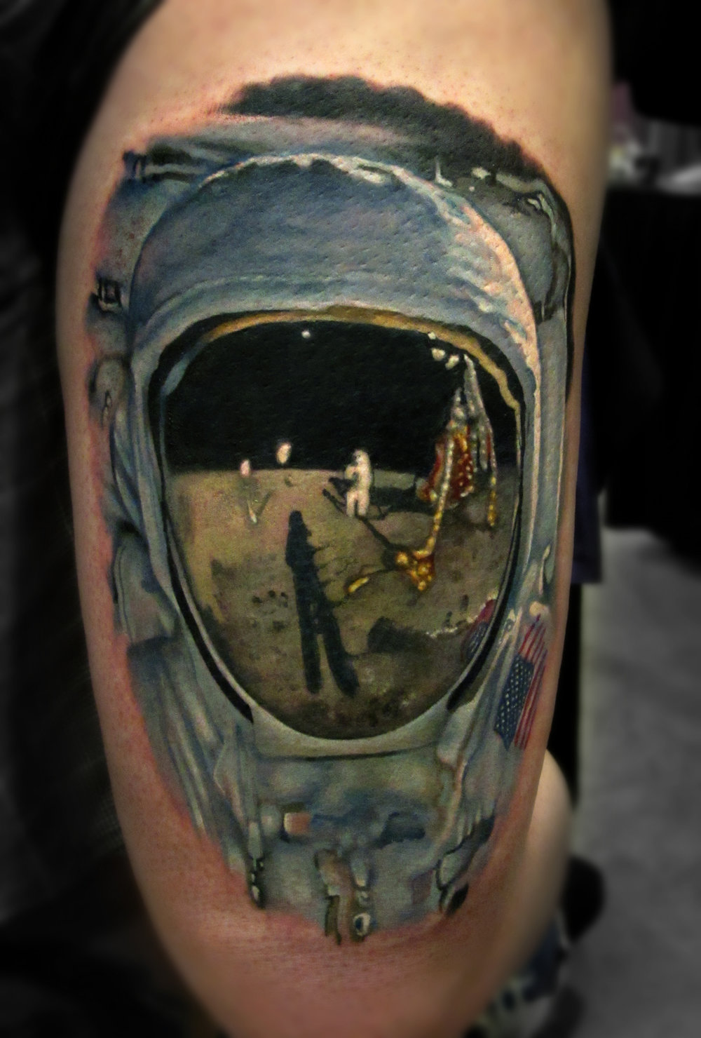 LCT Buzz Aldrin Color Portrait Realism Tattoo.jpg