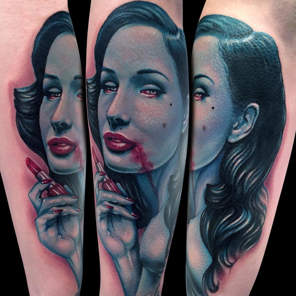 Liz Cook Tattoo Dita Von Teese Vampire Color Mag.jpg