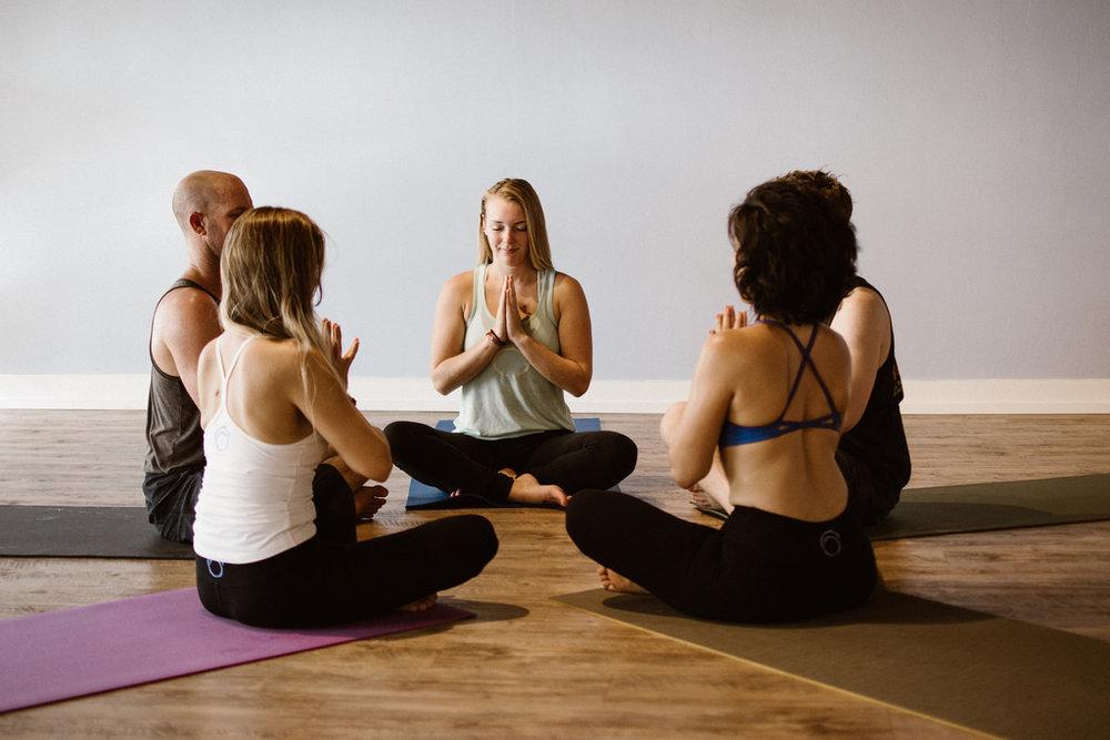 yoga class ohm