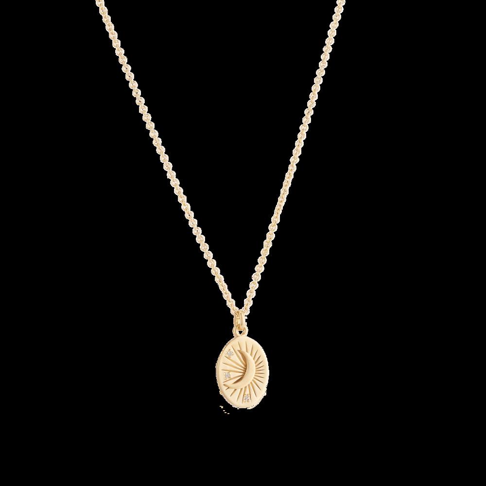 MEJURI  Moon Tarot Necklace