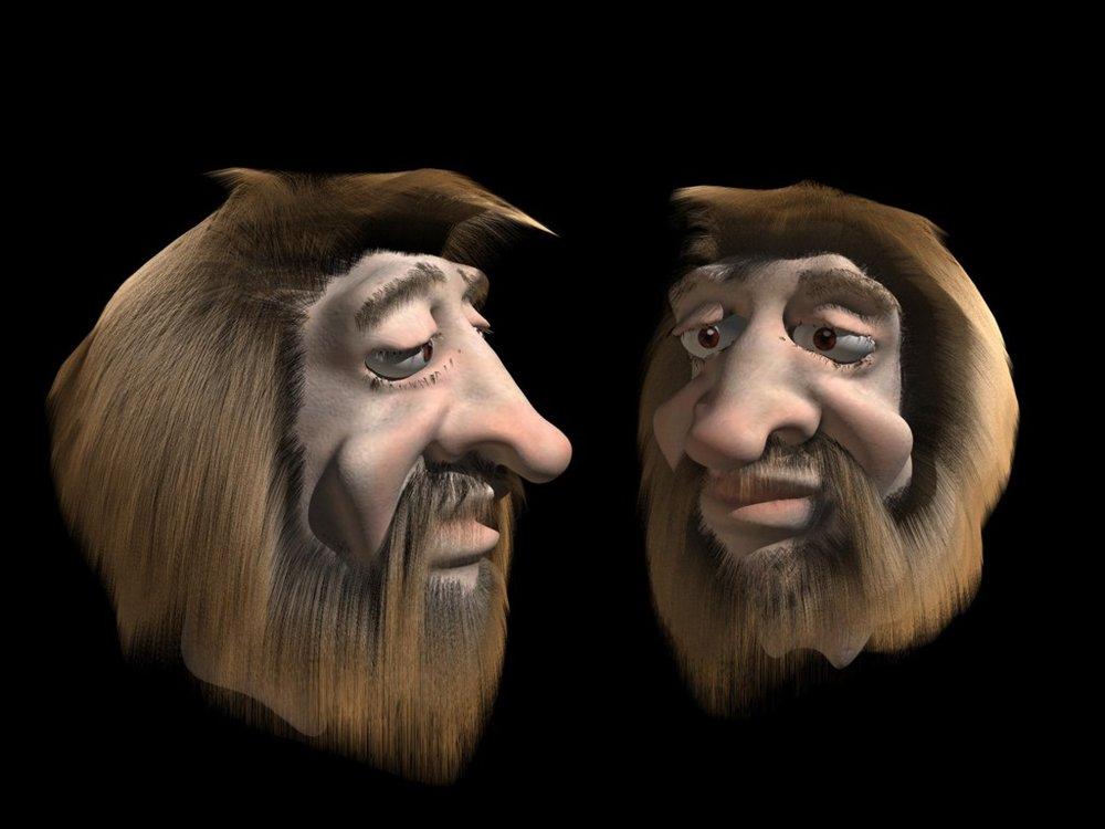 """""""Caveman"""" by  Andre Pelser ."""